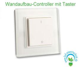 Sys-One 1 Zone Wandaufbau-Controller mit Taster, weiss, Batteriebetrieb