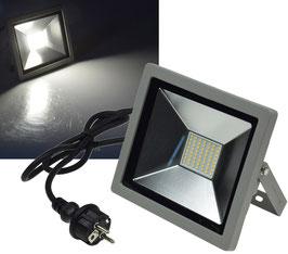 LED-Fluter SlimLine 2.0 - 30W, IP44, 2200 Lumen, 4000K, neutralweiß