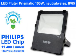 LED Fluter Prismatic 100W, neutralweiss, IP65