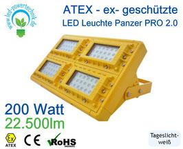 ATEX - ex-geschützte LED Leuchte Panzer PRO 2.0 | 200 Watt | 22.400 lm | tageslichtweiß - 6000 K | IP66 |