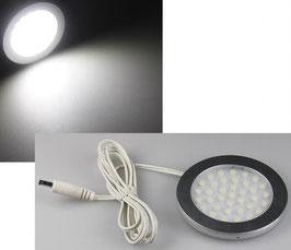 """LED-Aufbauleuchte """"R90"""" kaltweiß 3 Watt, 12V=DC , 6000K, 270 Lumen"""