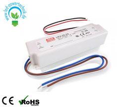 LED TRAFO LPV-35-24 | Meanwell  | Konstantspannung - 35 Watt - 750 mA - 24 V/DC | für LED Maschinenleuchten Linear 20W