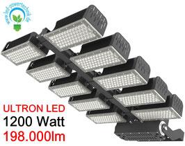 ULTRON LED Sportplatz & Universalleuchte 1.200W / 198.000lm / 3000K - 6500 K / IP66 /