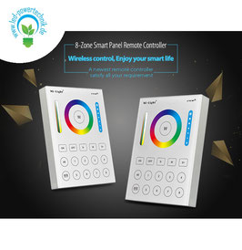 LED Fernbedienung Smart Panel RGB-WW (RGB-CCT) 8 Zonen