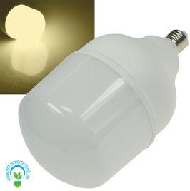 "LED CH03 Lampe E27 48W ""T2000"" 4000lm, 2900K, warmweiß, ØxH 14x24cm"