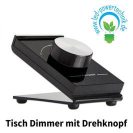 Sys-One 1 Zone Tisch Dimmer mit Drehknopf, schwarz, Batteriebetrieb