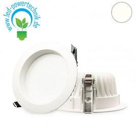 LED Downlight 10W Diffusor weiss, neutralweiss, dimmbar