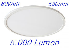 LED light Panel rund 60W, 600mm warmweiß