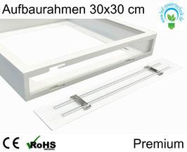 Aufbaurahmen Premium für alle 30x30cm LED Panele weiß lackiert