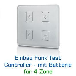 Sys-One 4 Zonen Funk-Einbau-Controller, 230V AC