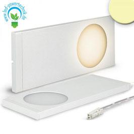 Sys-Slim LED Unterbauleuchte silber, superflach, 6W, 12V/DC, warmweiss
