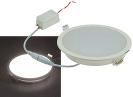 "LED Licht-Panel ""CP-150R"", Ø 150mm, IP54 230V, 10W, 800 - 840 Lumen"