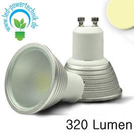 GU10 LED Strahler 5 Watt, warmweiss, dimmbar