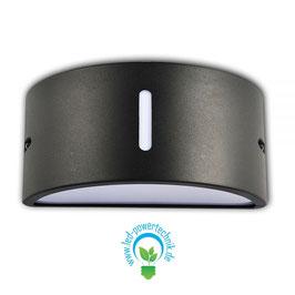 LED Wandlampe E27 , Up & Down, IP54, anthrazit
