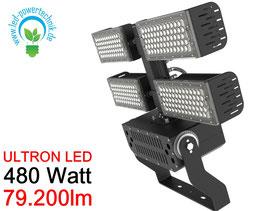 ULTRON LED Sportplatz & Universalleuchte 480W / 79.200 lm / 3000K - 6500 K / IP66 /