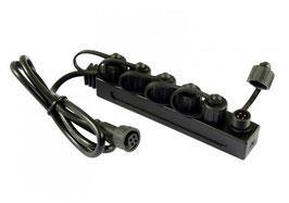 Verteiler-Dose IP67 RGB LED Bodeneinbaustrahler IP67 SS 4polig