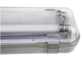 LED Röhren IP65 Doppel - Halterung 150cm