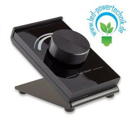Sys-One 1 Zone Tisch-Controller mit Drehknopf, weissdynamisch, Batteriebetrieb, schwarz