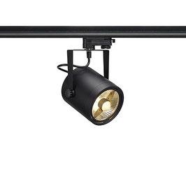LED 3-Phasen Strahler EURO SPOT ES111, GU10, schwarz