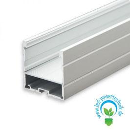 LED Aufbauprofil LAMP35 Aluminium eloxiert, 200cm
