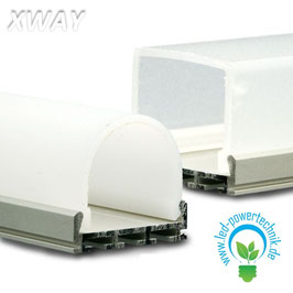 Montageprofil XWAY , eloxiert, L: 2000mm