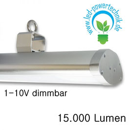 LED Linearleuchte, 120cm, 150W, neutralweiss, frosted, IP65, 1-10V dimmbar