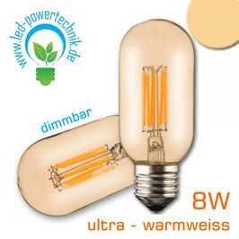 LED E27 - Vintage 8W ultrawarmweiss, 600lm, dimmbar