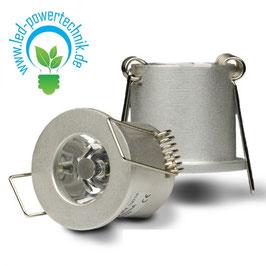 LED Spot, 1x3W, 12V oder 700mA, 25°, warmweiss