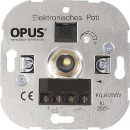Komplettset - Elektronisches Potentiometer inkl. Abdeckung & Rahmen