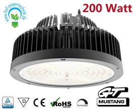 LED MUSTANG GT Hallenleuchte 200W | 120° Abstrahlwinkel | 30.000 lm | 5700 Kelvin Tageslichtweiss | IP65 | dimmbar