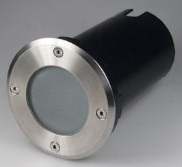 """Bodenleuchte """"BELLO-2"""" 10x10x13cm, IP65, GU10 Fassung, 4 rund"""