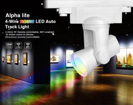 LED RGB-WW 3 Phasen Schienenstrahler Color Starlight 25W