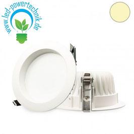 LED Downlight 10W diffusor weiss, warmweiss, dimmbar