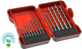 Steinbohrer Set / Satz 15-teilig inkl. Aufbewahrungsbox, Ø 3 - 10mm