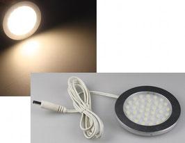 """LED-Aufbauleuchte """"R90"""" warmweiß 3 Watt, 12V=DC , 3200K, 270 Lumen"""