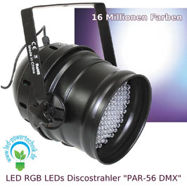 LED RGB Disco Event - Strahler 15W - DMX512