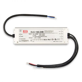 LED Trafo MW ELG-150-24B 24V/DC, 0-150W, 1-10V dimmbar, IP67