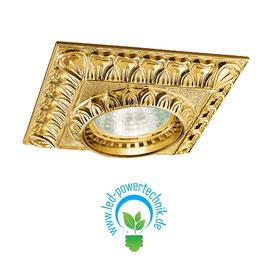 Spot MILADY 2, 24 Karat Gold, L 10cm, B 10cm, Höhe 5cm, 1-flammig, GU10