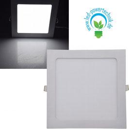 LED Licht-Panel 18W,  22x22cm  1350 Lumen, 4200 Kelvin - neutralweiß