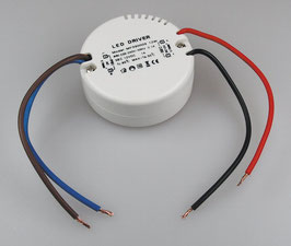 "LED-Trafo ""CT-12E-V2R"", 0,5-12W 230V~ auf 12V=, rund ØxH 55x23mm"