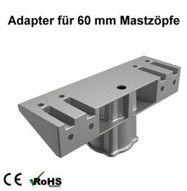 Adapter für 60 mm Mastzöpfe für LED Neptun - Flutlicht / Fluter
