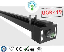 LED Systembandleuchte MexPro 2 | 150cm | 50W | 6000K tageslichtweiss | 7.000lm / UGR<19