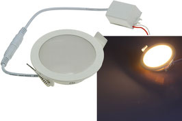 "LED Licht-Panel ""CP-90R"", Ø 90mm, IP54 230V, 5W, 400 - 420 Lumen,"