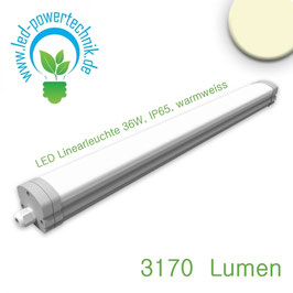 LED Linearleuchte Tomy 36W, IP65, warmweiss