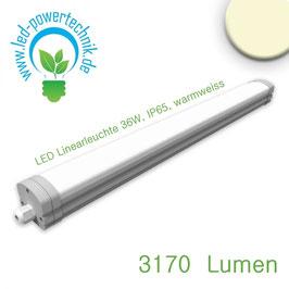 LED Linearleuchte Tomy 36W, IP65, warmweiss