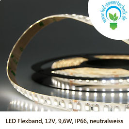 LED Stripes - Flexband, 12V, 9,6W, IP66, neutralweiss - 111909