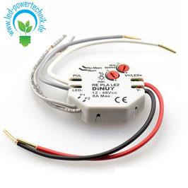 Universal-Dimmaktor für 12V/24V LED Leuchtmittel und Stripes