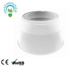 70° Reflektor aus Polycarbonat | kompatibel mit LED Taifun 320W Hallenstrahler