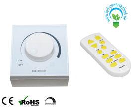 LED Dimmer mit Infrarot Fernbedienung | 400 Watt | kompatibel mit allen LED Panelen