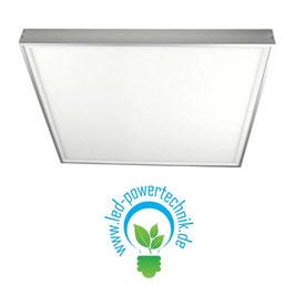 Aufbaurahmen für alle 62x62cm LED Panele aus weiß lackiertem Aluminium